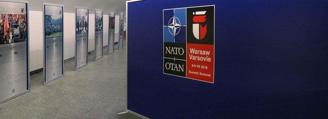 Wykonaliśmy wystawy na szczyt NATO