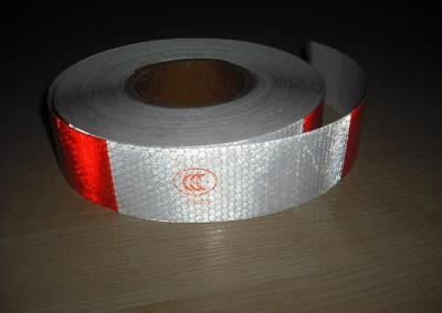 Self-adhesive laminated reflective tape